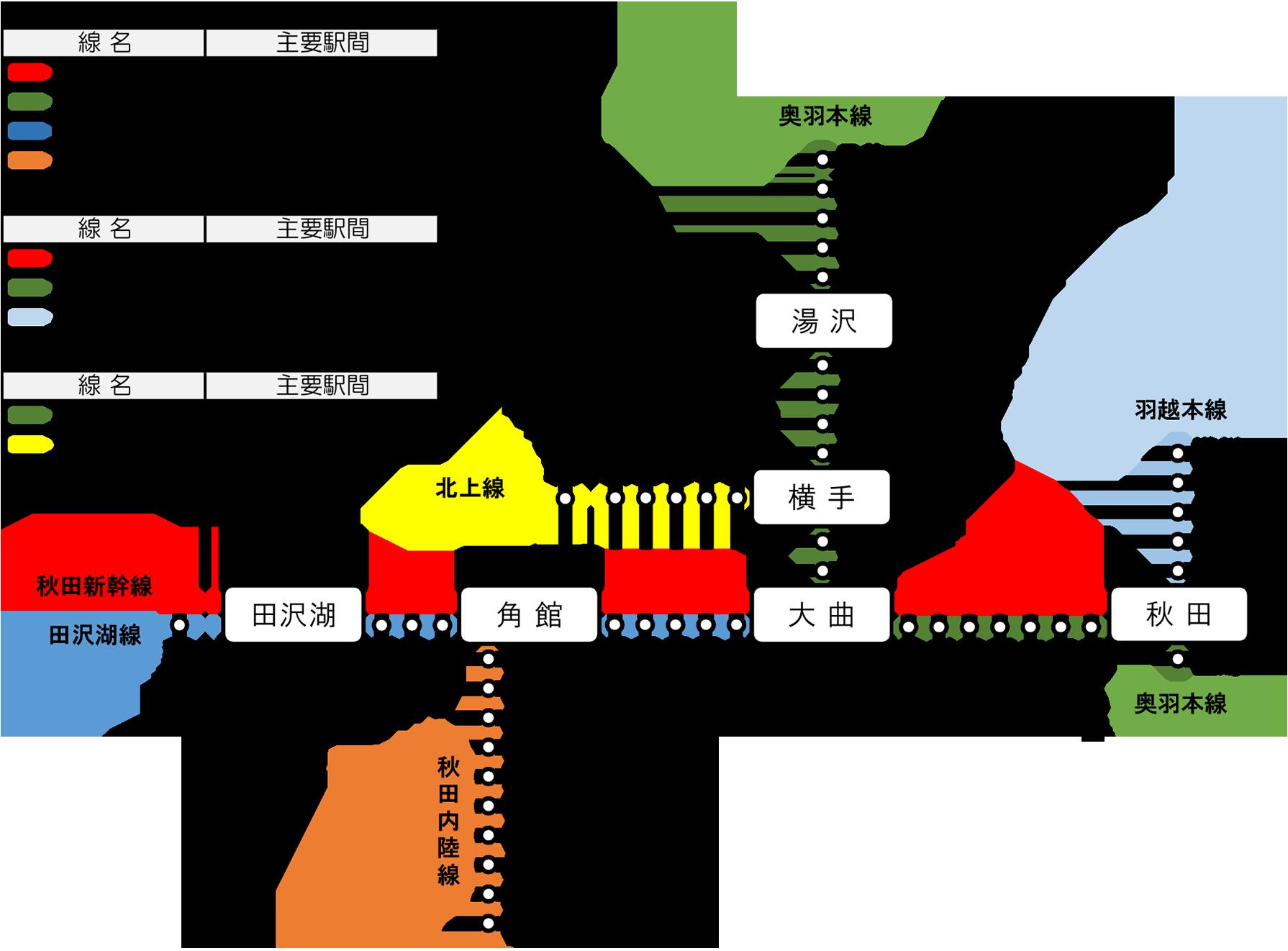 山庄建設の保守エリア・路線図