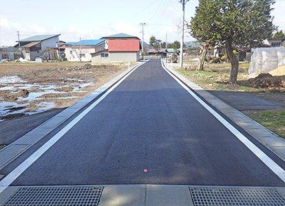 小渕野山崎線の道路改良