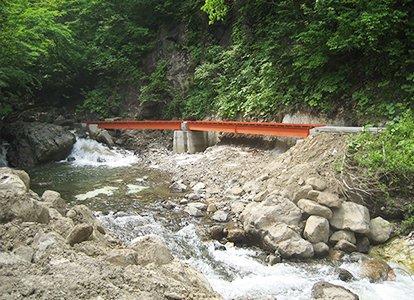 災害復旧工事 水路復旧工事